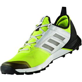 adidas TERREX Agravic Speed Löparskor Herr grå/grön